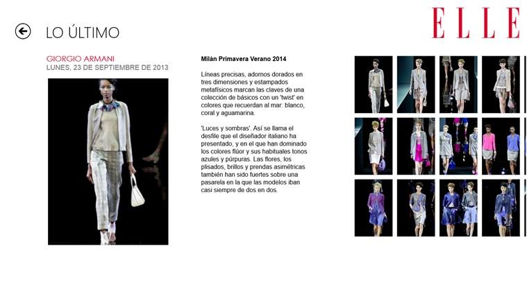 ELLE Moda y Tendencias captura de pantalla 2