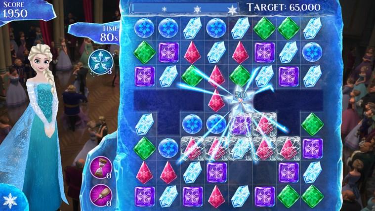 Frozen Free Fall screen shot 4