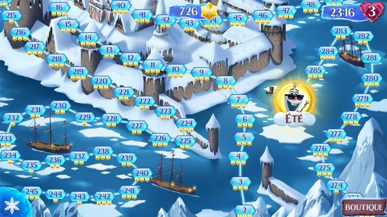 La Reine des Neiges Free Fall capture d'écran 2
