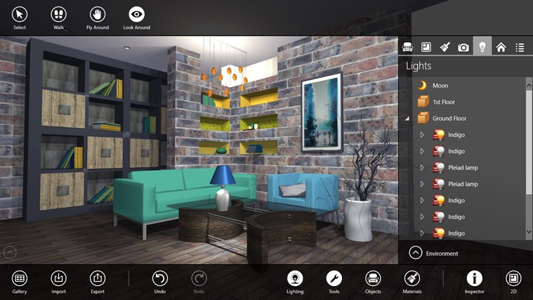 Live interior 3d pro app for windows in the windows store for Software arredamento interni gratis