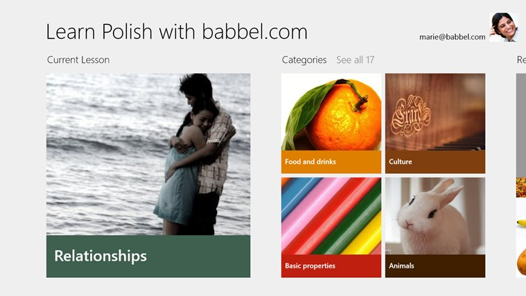 Learn Polish with babbel.com screen shot 0