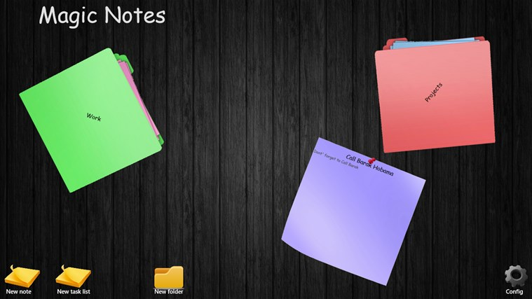 My Magic Notes screen shot 0