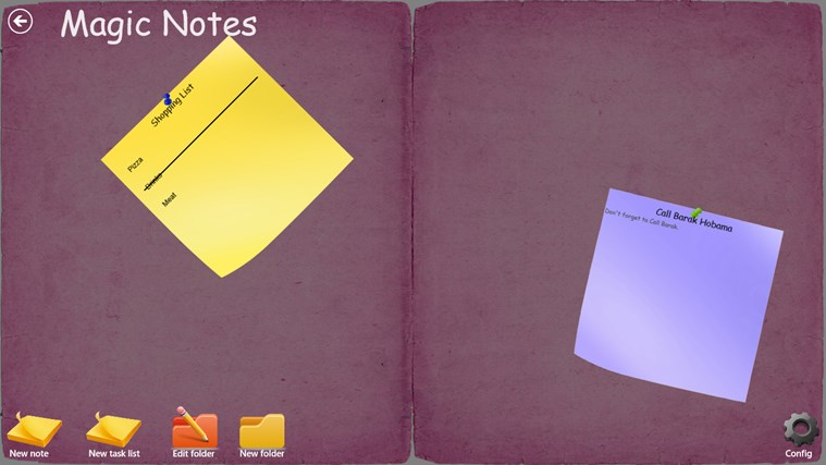 My Magic Notes screen shot 4