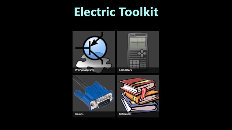 Electric Toolkit App For Windows In The Windows Store