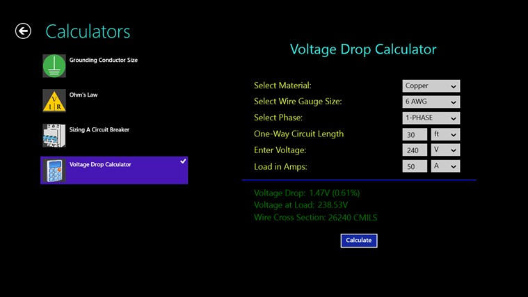 Electric Toolkit screen shot 4