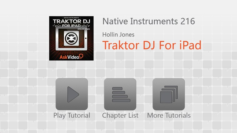NI: Traktor DJ For iPad screen shot 0