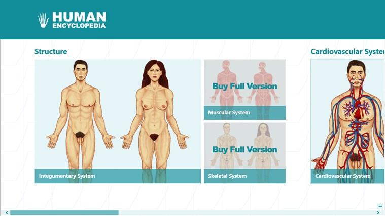 Human Encyclopedia schermafbeelding 0