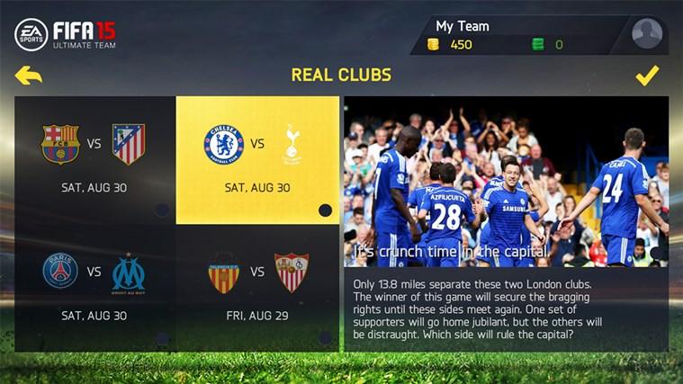FIFA 15: UT screen shot 4