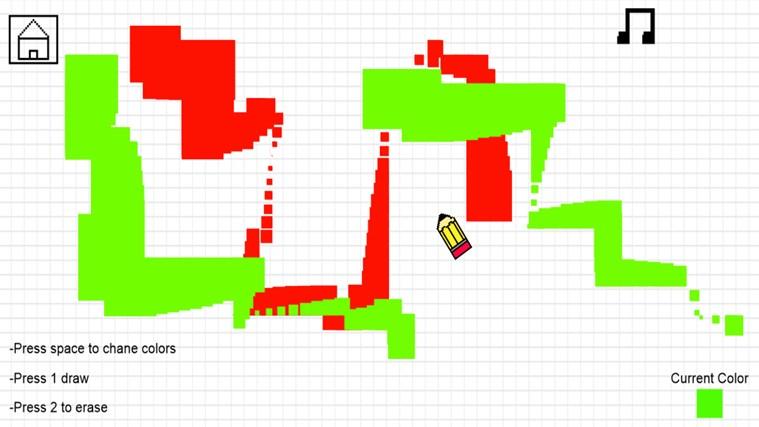 Super Pixel Draw screen shot 2