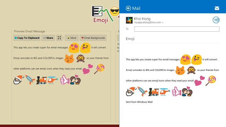 Emoji screen shot 2
