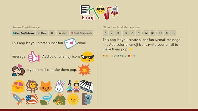 Emoji screen shot 4