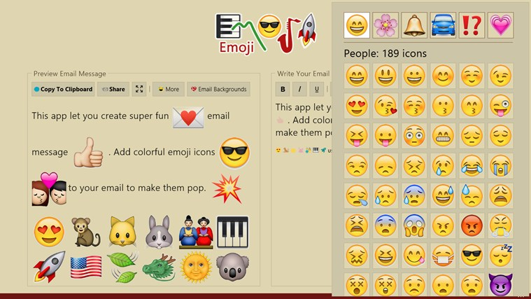 Emoji screen shot 6