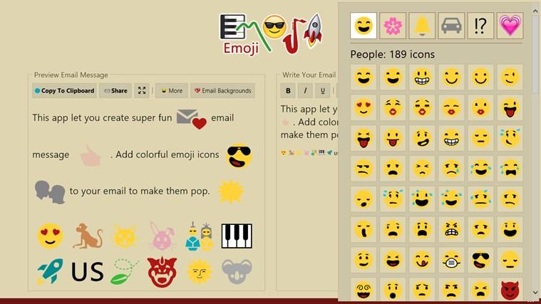Emoji screen shot 8