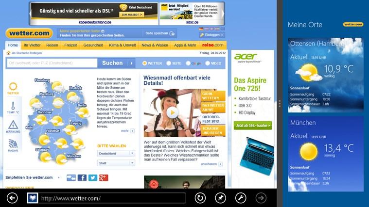 wetter.com Screenshot 6