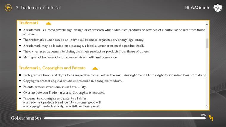 Patent by WAGmob screenshot 6