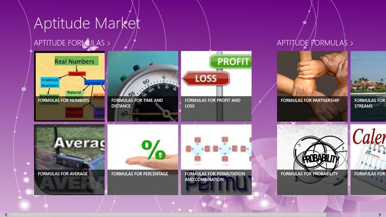 Isithombe sesikrini esingu-Aptitude market 0