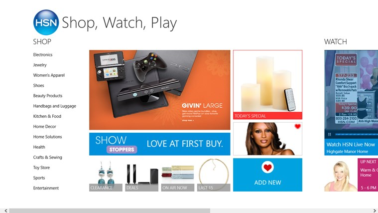 HSN - Shop, Watch, Play screen shot 0