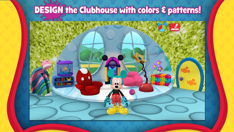 Mickey Mouse Clubhouse Paint and Play screen shot 2