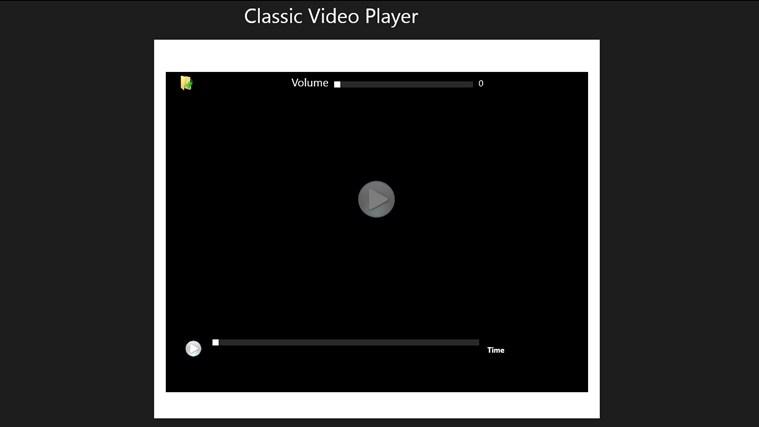 CLASSIC VIDEO PLAYER näyttökuva 0