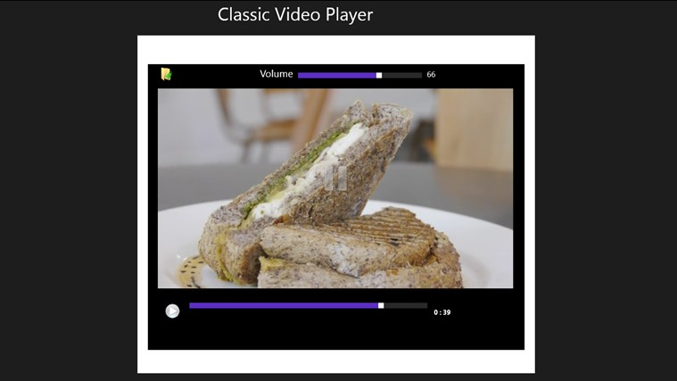 CLASSIC VIDEO PLAYER näyttökuva 2