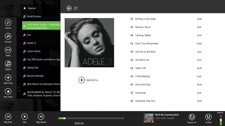 Spotlite - Listen to Spotify screen shot 6