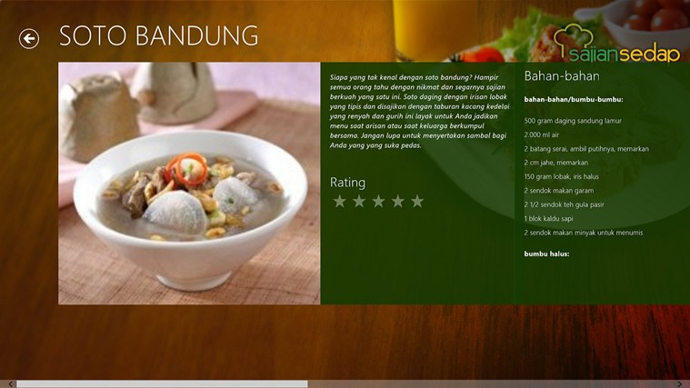Sajian Sedap screen shot 2