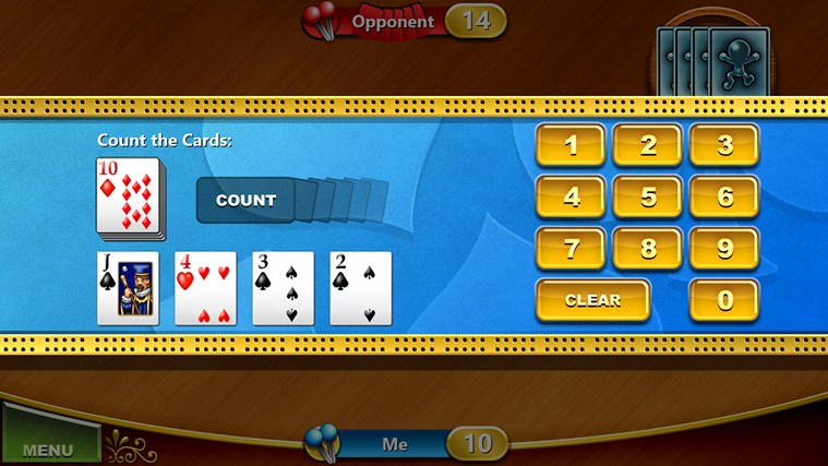 Cribbage screen shot 4
