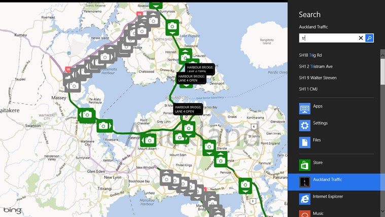Auckland Traffic screen shot 2