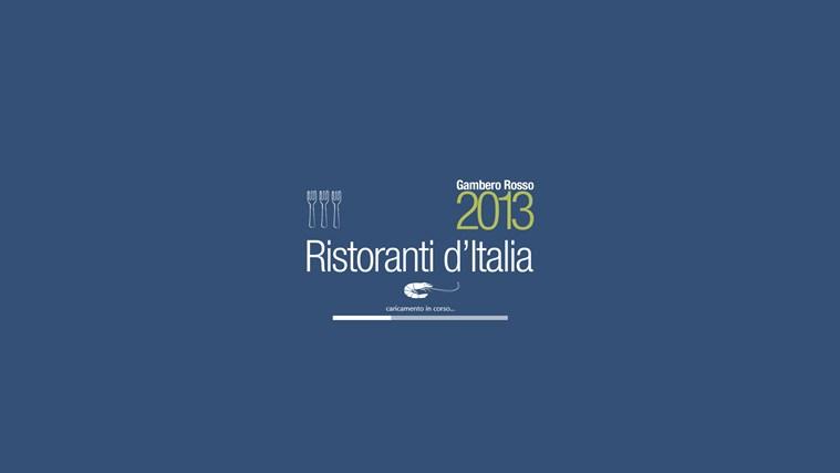 Ristoranti d'Italia del Gambero Rosso 2013 cattura di schermata 0
