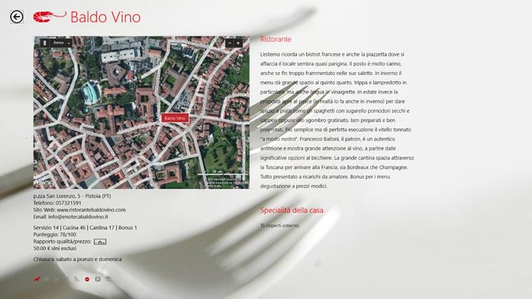 Ristoranti d'Italia del Gambero Rosso 2013 cattura di schermata 4