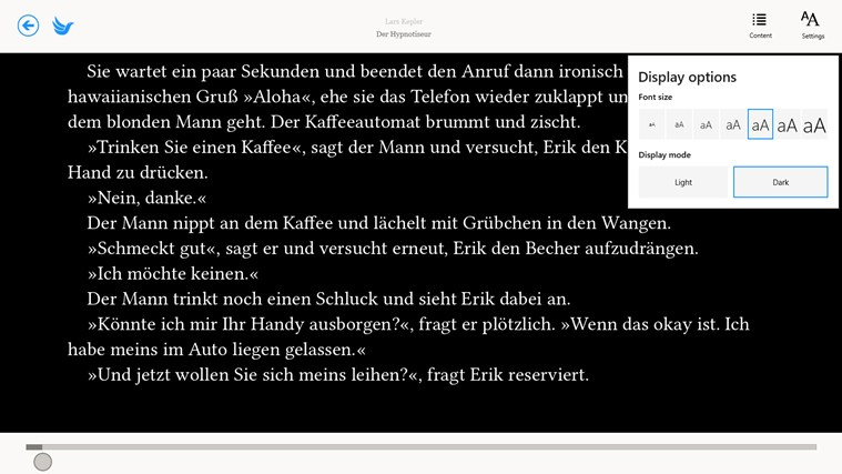 eBook.de READER screen shot 2