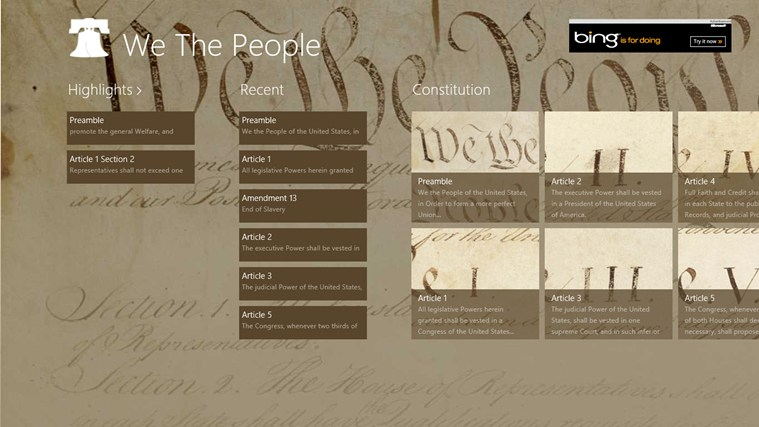We The People screen shot 0