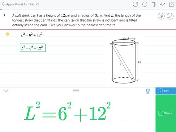 Mathspace screen shot 4