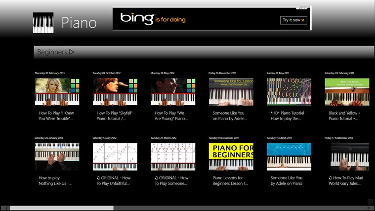 Learn Piano screen shot 0