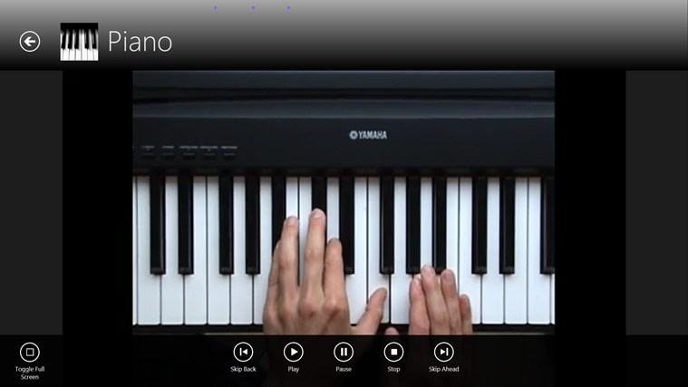 Learn Piano screen shot 2