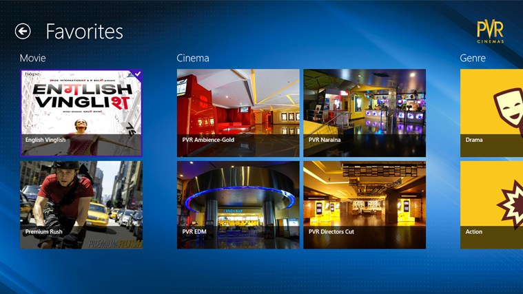PVR Cinemas screen shot 4