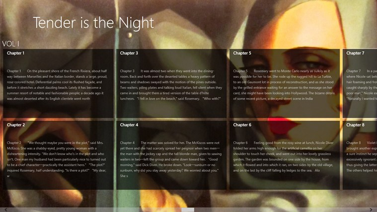 tender is the night essay questions