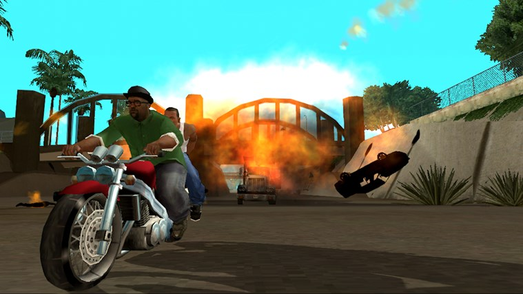 Grand Theft Auto: San Andreas screen shot 0