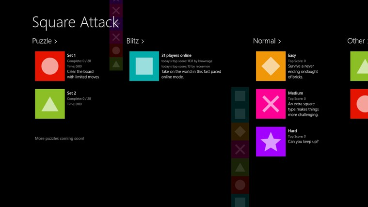 Square Attack screen shot 0