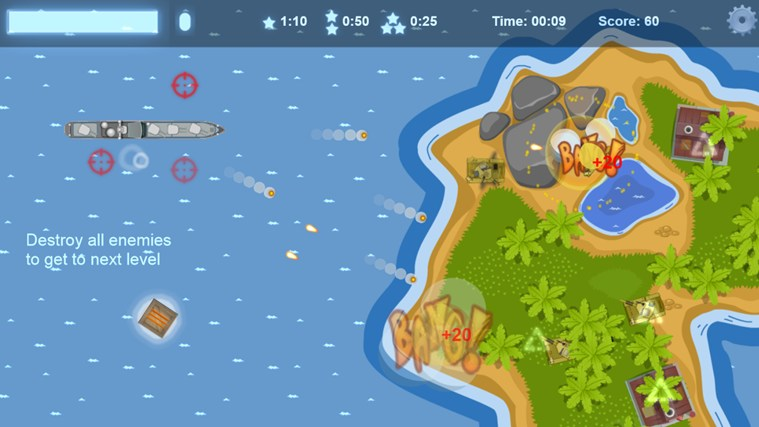 Battleship Islands screen shot 2