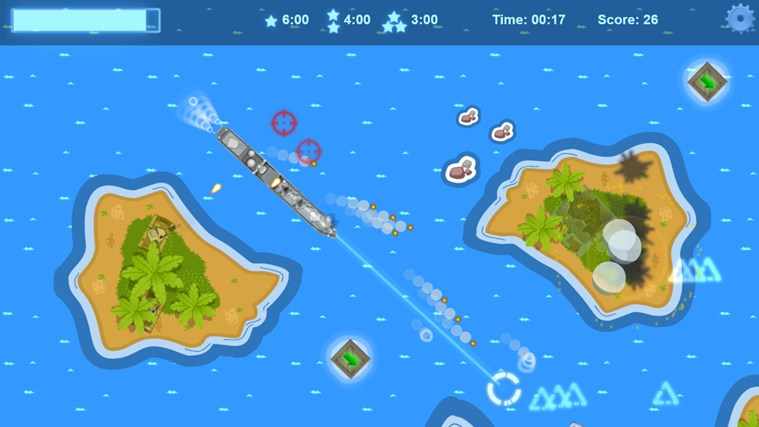 Battleship Islands screen shot 6