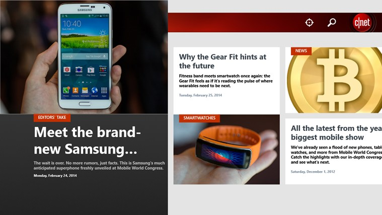 cnet screen shot 0
