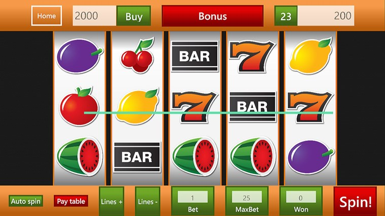 microsoft games slot machines download