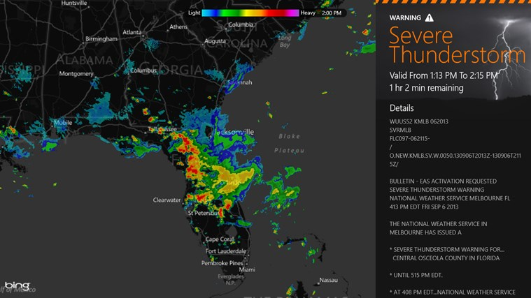 MyRadar Weather Radar screen shot 0