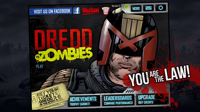 Judge Dredd vs. Zombies Windows 8 Game