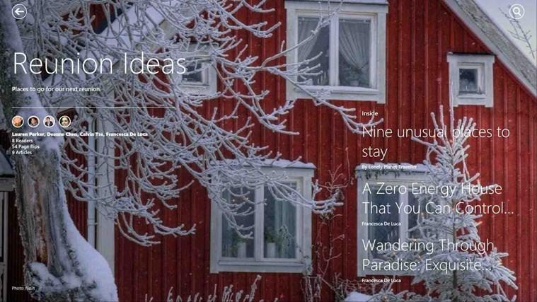 Flipboard screen shot 6