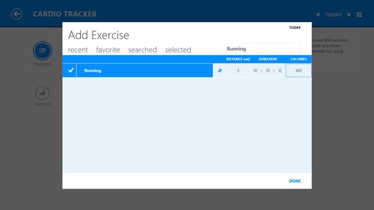 MSN Health & Fitness screen shot 4
