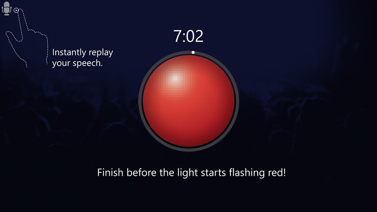 Speech Timer Free screen shot 2
