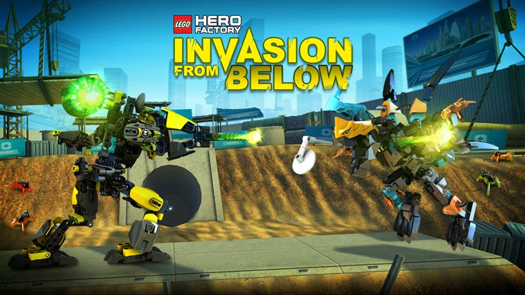 LEGO® HERO FACTORY INVASION FROM BELOW screen shot 0