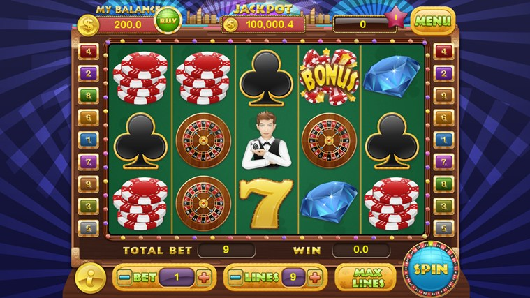 Slot Bonanza screen shot 2
